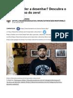 Quer Aprender a Desenhar_ Descubra o Passo a Passo Do Zero!