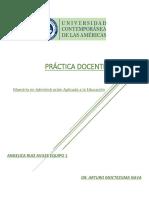 La Práctica Docente AngelicaRuiz Equipo1
