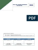 MSIG Manual Sistema Integrado de Gestión