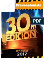 """Revista seguridad """"El prevencionista"""""""