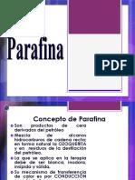 CLASE 4 PARAFINA e INFRA ROJO.pptx