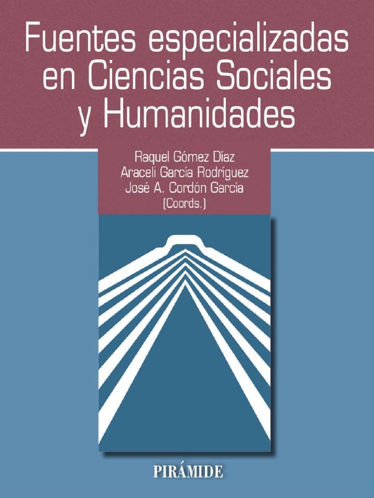 Gomez Diaz Raquel. Fuentes especializadas en Ciencias Sociales y ...