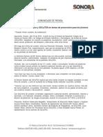 23/04/18 Trabajarán DIF Sonora y CECyTES en temas de prevención para los jóvenes -C.041889