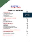 Chapitre 6 Les Dallages. Table Des Matières Pages 1. Généralités 318