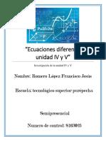 ecuaciones diferenciales unidad 4