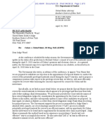 DOJ Letter to Court
