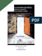 Hermenêutica - Princípios de Interpretação Bíblica - Vilson Scholz.pdf