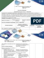 Guía de Actividades y Rúbria de Evaluación - Fase 0 - Exploratoria