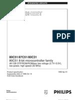 80C51 8-Bit Micro Controller Family
