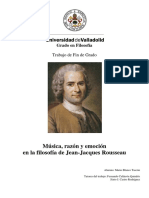 Tesis Rousseau y La Música
