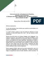 Reunión Piñera Con Empresarios