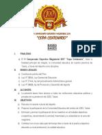 V Campeonato Deportivo Magisterial 2017