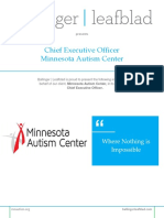 Executive Position Profile - Minnesota Autism Center - CEO