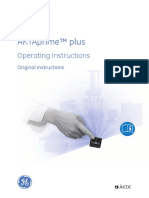 Aktaprime Plus Operating Instructions (GE Healthcare)