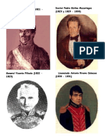Presidentes de La Republica de Guatemala