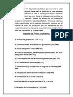 Temario de Fisiología Renal
