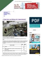 ¿Cómo Hacer Un Balance de Comprobación_ _ Revista de Consultoria