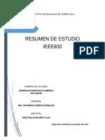 Resumen de Estudio - IEEE830