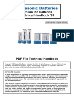 Panasonic LiIon Handbook(1999)