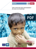 Community Based Disaster Risk Management for Local Authorities