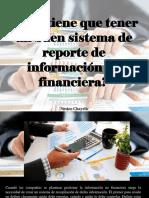 Nestor Chayelle - ¿Qué tiene que tener un buen sistema de reporte de información no financiera?