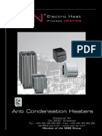 Anti Condensation Heaters March 2011