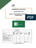 Lab 02 -Oblitas Ramirez Brany Fernando - Excel 2013 - Estilos, Fórmulas y Referencias (1)