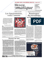 Le Monde Diplomatique - Avril 2018