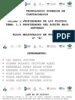 Eq.2 - 1.3. Propiedades Del Aceite Bajosaturado- FMT