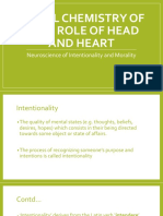 Role of Head and Heart