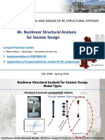 4b. Nonlinear Structural Analysis for Seismic Design_Spring 2018