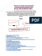 Catálogo de Herramientas TIC Para Docentes y Estudiantes