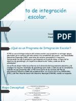 Proyecto de Integración Escolar