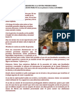 Juan Pablo II. Acto de Abandono a La Divina Misericordia en Lourdes