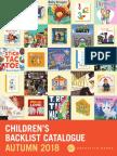 Fall 2018 UK Children's Backlist Catalog