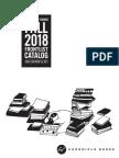 Fall 2018 Chronicle Books Frontlist Catalog