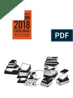 Fall 2018 UK Frontlist Catalog