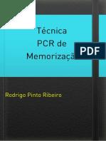 E-book - Técnica PCR de Memorização
