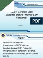1 2 Evidence Based Practice PT