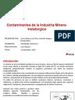 Presentación Contaminantes de la Industria Minera-metalúrgica