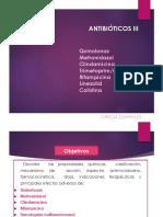 Antibiotico III