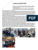Retos Actuales Para Guatemala