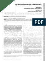 Degradação PVC