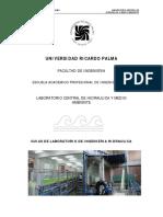 Guia General de Laboratorio de Ingenieria Hidraulica