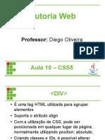 AUT10 - CSS5