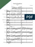 classical symphony finished sib7 - full score