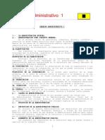 Derecho Administrativo 1