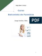 Balconista de Farmacia Sp 32296