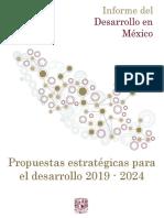 Propuestas estratégicas para el desarrollo 2019 - 2024