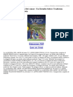 La Alegoria Del Amor Un Estudio Sobre Tradicion Medieval